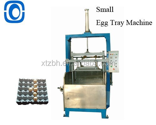 800pcs/hr egg box tray rotary line ce automatic small recycling line egg box machine rotary egg tray box machine with Video