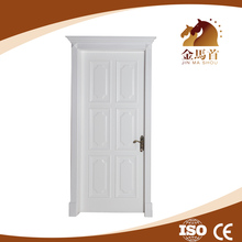 white color interior solid wooden door malaysia