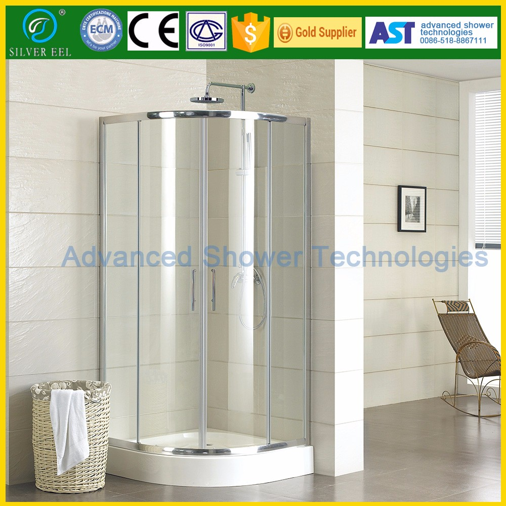 Simple shower room sliding shower door outdoor steam shower room