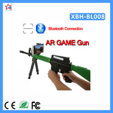 2017 Factory Wholesale price Hot Sale Toy Submachine Gun Bluetooth AR Gun with phone App