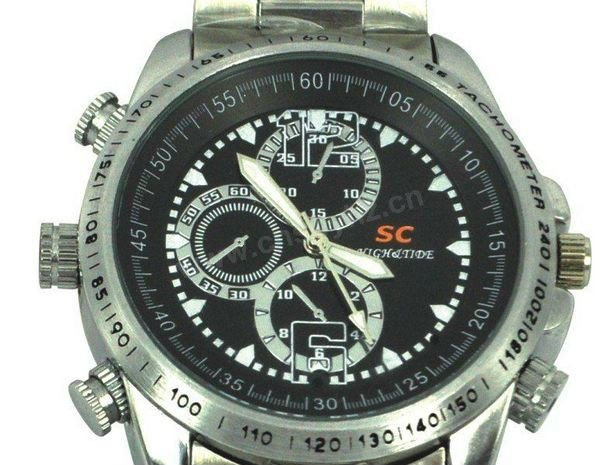 2012 fashion hidden camera watch with Adjustable sound recording and support Windows me/2000/xp/2003/vista