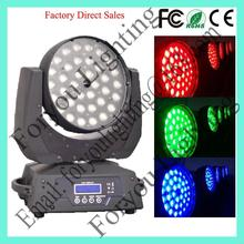 36x10w rgbw 4in1 leds top quality new style moving head led wash led 36x10w kit