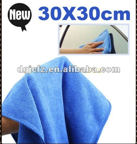 Microfiber towel detailing Car Cleaning home Cloth 30x30