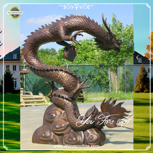 Garden Chinese Decorative Bronze Chinese Dragon