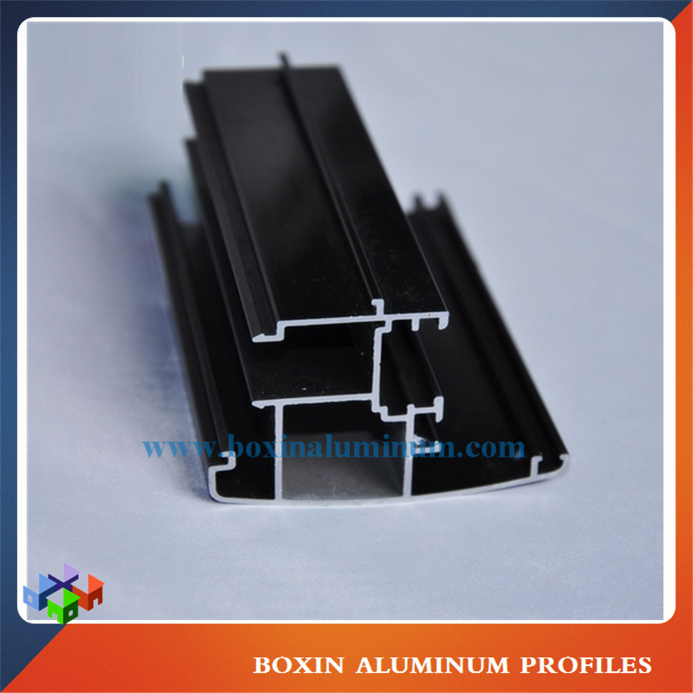 Aluminium Profile Window And Door Extrusion Dark Bronze