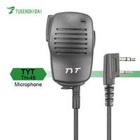 TYT MD-380/DM-UVF10 Microphone Two Way Radio K Type PTT Mic Microphone for Walkie Talkie