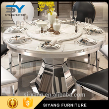 150W x leg dining table with high quality