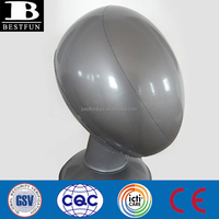 high quality inflatable wig stand plastic head mannequin folding vinyl faceless head mannequin for wig hat