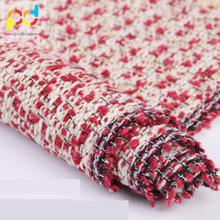 High Quality Shaoxing Textile NEW 2018 Worsted Woven Melange Wool Fabric For Women Coats