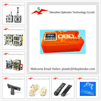 Plastic mold and injection products