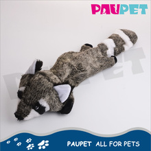 Fine appearance fashion interactive plush non-stuffing pet toy