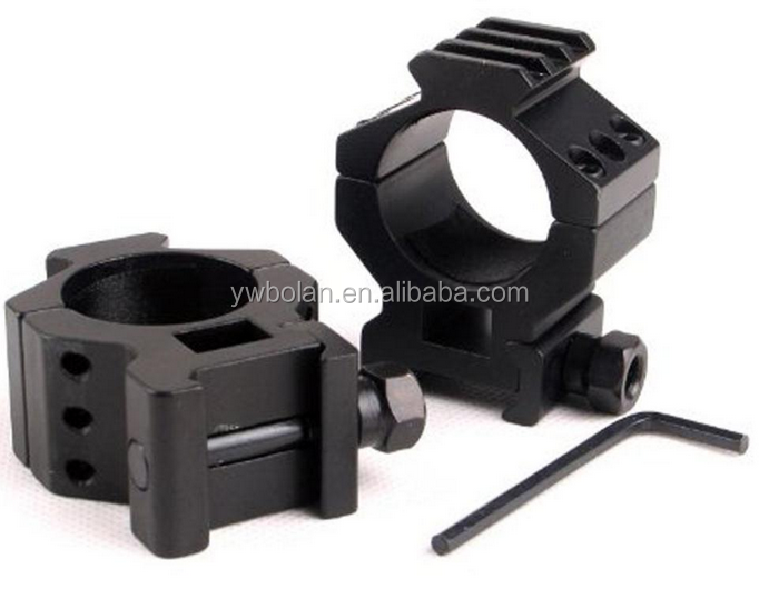 High 30mm Scope Mount Rings for Weaver Picatinny Rail of 20mm Adapter for Hunting Gun