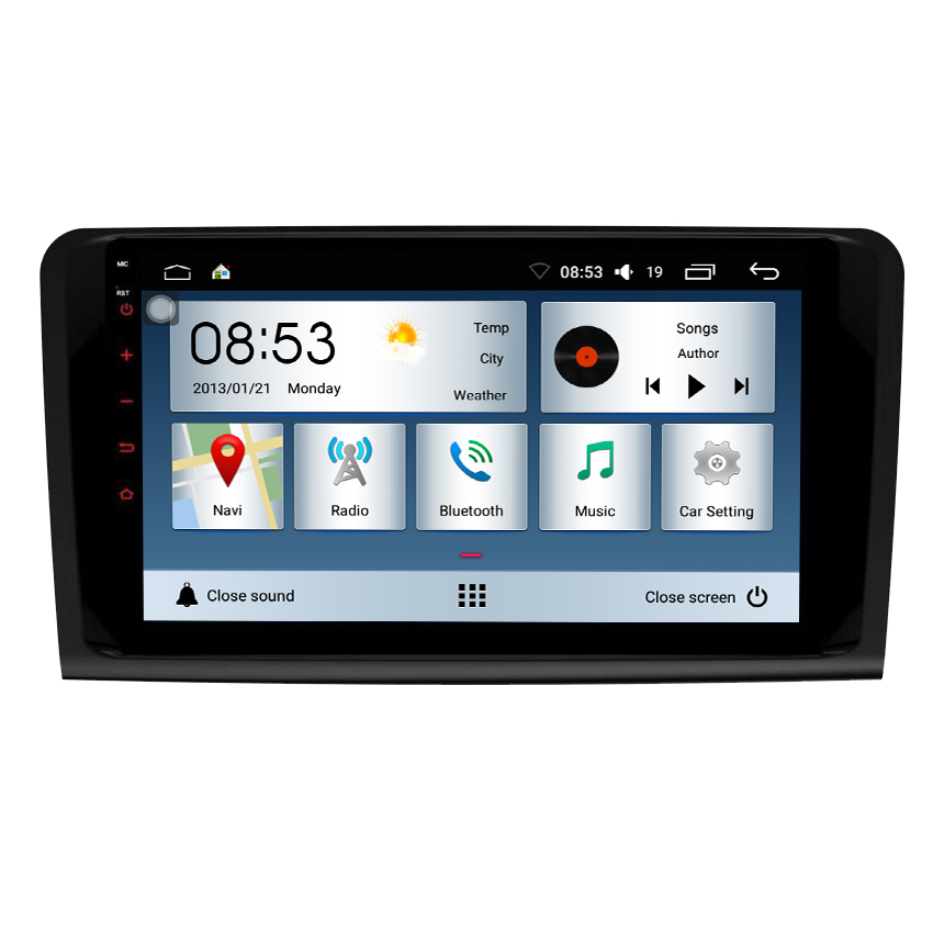 <strong>Android</strong> 8.1 quad core dvd player for Benz ML CLASS <strong>W164</strong> ML350 ML430 ML450 ML500 2G RAM+16G ROM car radio carplay playstore osd