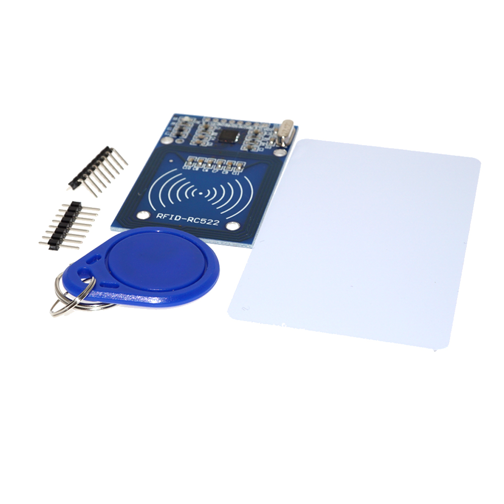 RC522 RFID RF IC Card Inductive <strong>Module</strong> with Free S50 Fudan Card Key Chain and Accessories