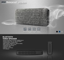 Waterproof bluetooth speaker IPX7 Mini Bluetooth V4.1 Portable Audio for Shower Speaker RS600