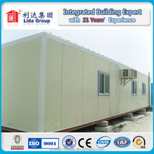 Luxury Living prefabricated homes container show room