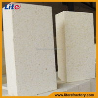 Top quality silica insulating fire brick gas is not subject to erosion