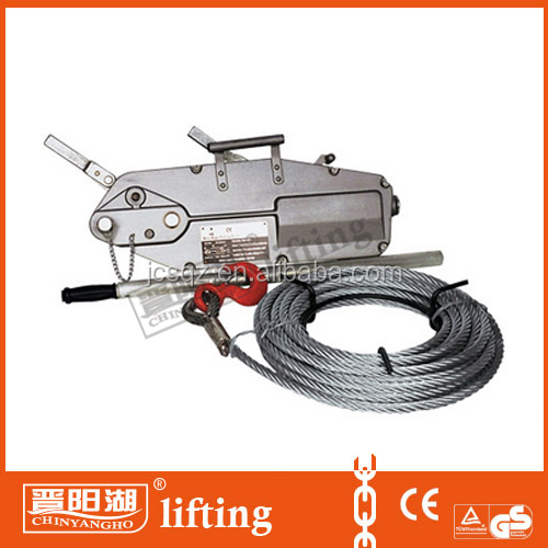 mini manual wire rope pulling hoist from China manufacturer