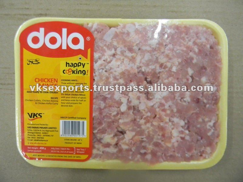 Frozen Halal Chicken Minced Meat
