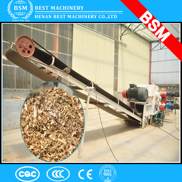 2015 the most popular wood drum chipper /tree/log chopper/wood cutter/ wood chipping machine