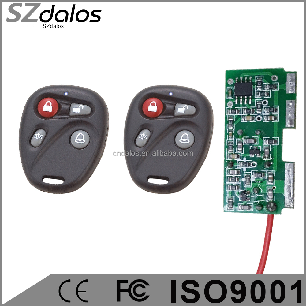 DC12V 2CH RF Wireless Remote Control System teleswitch 2transmitter and 1 receiver universal gate remote control /radio receiver