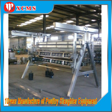 common standard way automatic carcass legs and wins cutting machine slaughtering equipment chicken feather plucking machine