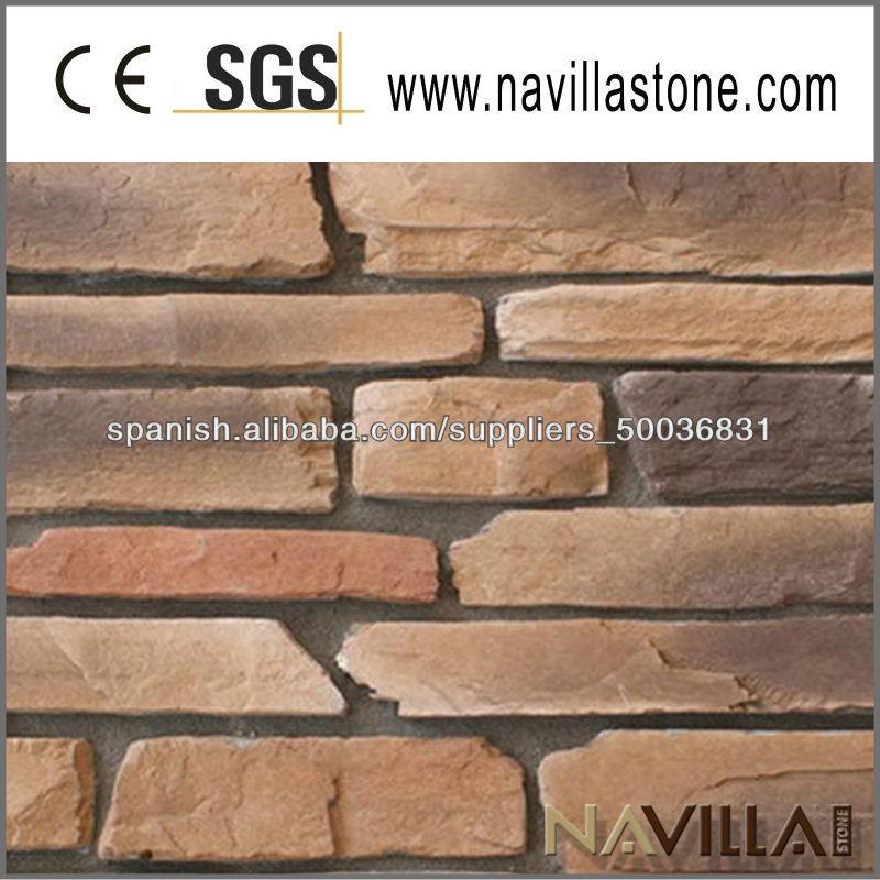Pared exterior de revestimiento de piedra piedras artificiales identificaci n del producto - Revestimiento exterior piedra ...
