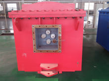 Nonferrous metal used flameproof explosion mobile substation