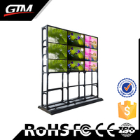 "Export Quality Wholesale Price Professional Supplier Ultra Narrow Bezel 55"" Lcd Xxxvideo Tv Wall"