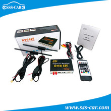 OEM manufacturer mobile digital tv receiver dvb-t2 car tuner in Russia/Thailand/Columbia
