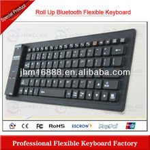 new flexible mini bluetooth silicone rubber keyboard