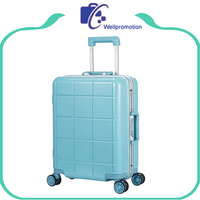Travel style hard shell 20 inch 4 wheel luggage