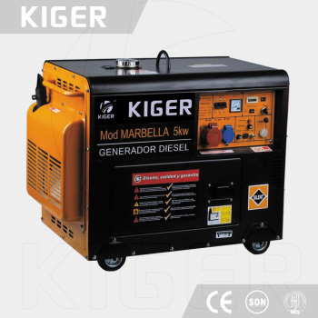 KG5000DE Chinese cheap diesel generators prices from factory