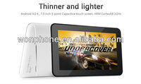 "New for 2013 JXD S6600 Mini Tablet PC 7"" Capacitive Android 4.0, 4GB A13 1GHz Android 4.0.4"