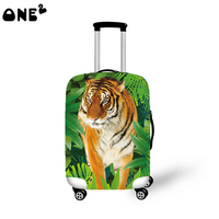 One2 new design different inch and amazing tiger pattern luggage cover
