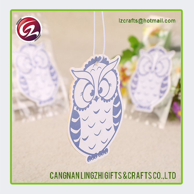 Small and High Quality hang paper car air freshener