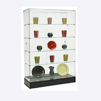 2017 fancy design plywood retail store display cabinet showcase for souvenirs