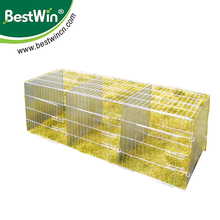 BSTW animal trap cage for large raccoo folding rabbit cage rabbit trap