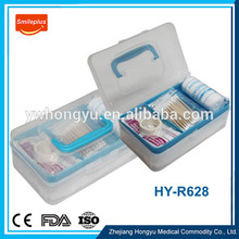 HY-R628 Custom Wholesale Plastic PP Car Accident First Aid Kit