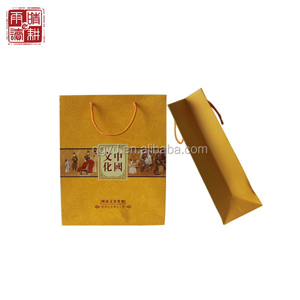 Double bottle wine paper bag, alibaba China, multiple bottles wine bag