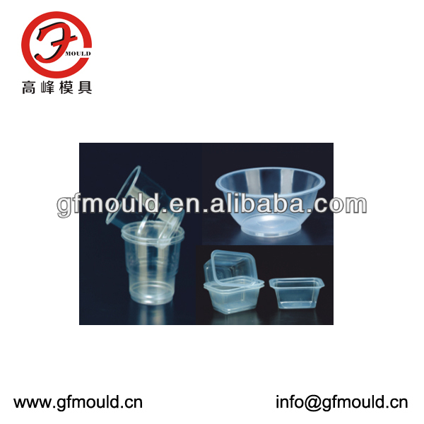 Thin Wall Mould Plastic Thin Wall Container Injection Molding