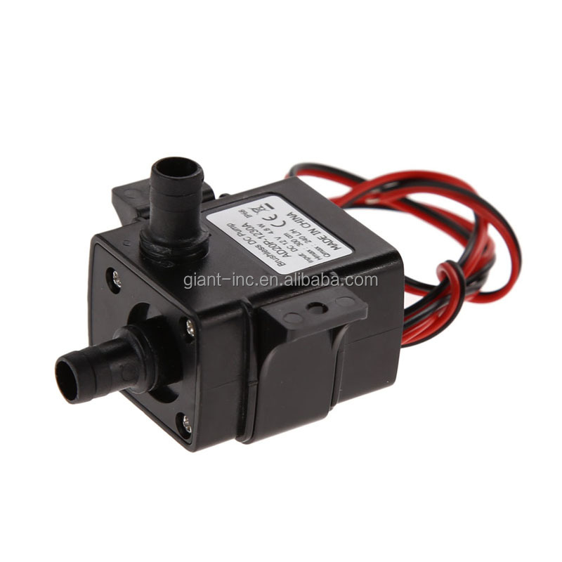 Small fountain water pump 12v dc motor submersible solar for Small water fountain pump