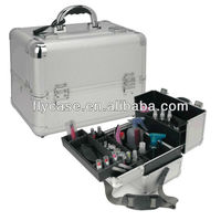 2013 new design aluminium Tattoo Kit Case , cosmetics case with plate inside and compartments size :370*230*270MM
