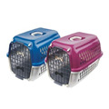 Pet Cage Dog Cage Carrier with Plastic Door Mesh Plate 51x35.5x33cm NTD9774 ORIENPET & OASISPET