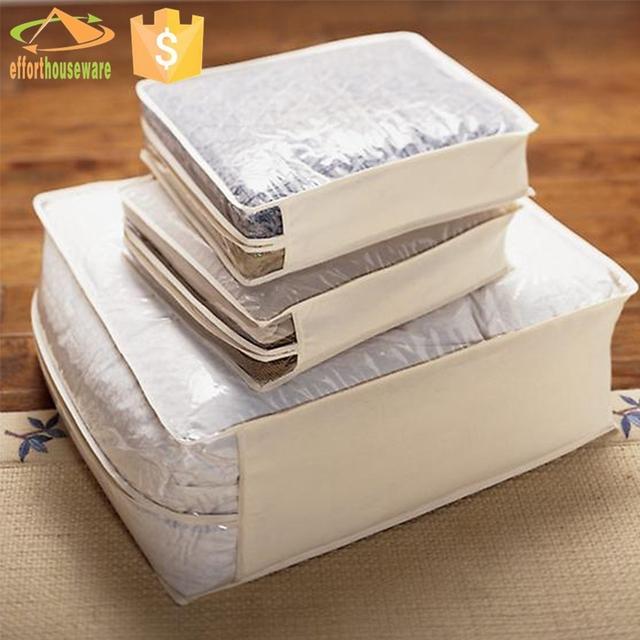 underbed non woven proof dust underbed blanket storage bag