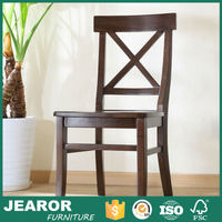 Modern UK Rustic Solid Ash Wood Dining Room Chairs Contemporary Wooden Dinner Chairs 2101