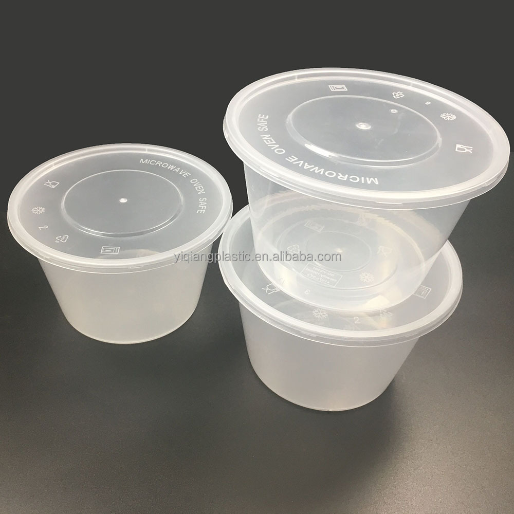 wholesale clear plastic clamshell food containers / box / cup with lid