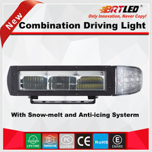Snow Plow driving light with Snow-melt and Anti-icing Systerm ECE R112 IP68 tractor driving light