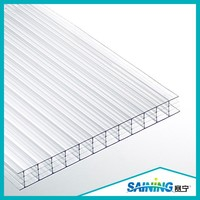 four-wall hollow polycarbonate hollow sheet/pc sheet for greenhouse