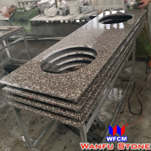 China Brown Granite G664 Brown Star Granite Slab